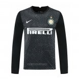 Inter Milan Goalkeeper Shirt Long Sleeve 2020-2021 Black