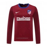 Atletico Madrid Goalkeeper Shirt Long Sleeve 2020-2021 Red