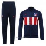 Jacket Tracksuit Atletico Madrid 2020-2021 Blue