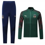 Jacket Tracksuit Italy 2020 Green and Red