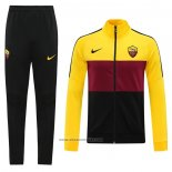 Jacket Tracksuit Roma 2020-2021 Yellow