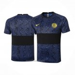 Training Shirt Inter Milan 2020-2021 Blue and Black