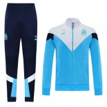 Jacket Tracksuit Olympique Marseille 2020-2021 Blue and White