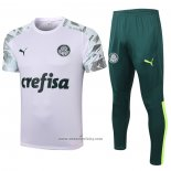 Tracksuit Palmeiras Short Sleeve 2020-2021 White