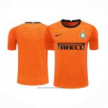 Inter Milan Goalkeeper Shirt 2020-2021 Orange