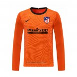 Atletico Madrid Goalkeeper Shirt Long Sleeve 2020-2021 Orange