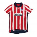 Atletico Madrid Home Shirt Kids 2020-2021