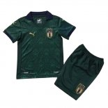 Italy Third Shirt Kids 2020-2021