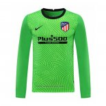 Atletico Madrid Goalkeeper Shirt Long Sleeve 2020-2021 Green
