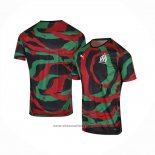 Thailand Olympique Marseille Om Africa Shirt 2021 Black Green Red