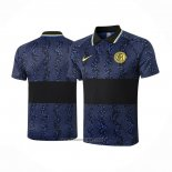 Polo Inter Milan 2020-2021 Blue and Black