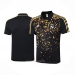 Polo Real Madrid 2020-2021 Black and Gold