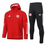 Windbreaker Suit SC Internacional 2020-2021 Red