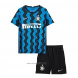 Inter Milan Home Shirt Kids 2020-2021