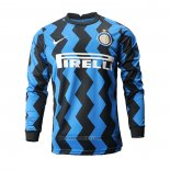 Inter Milan Home Shirt Long Sleeve 2020-2021