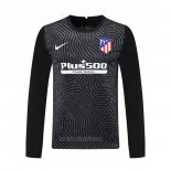 Atletico Madrid Goalkeeper Shirt Long Sleeve 2020-2021 Black
