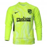 Atletico Madrid Third Shirt Long Sleeve 2020-2021