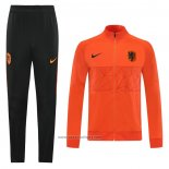 Jacket Tracksuit Holland 2020 Orange