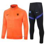 Jacket Tracksuit Holland Kids 2020 Orange
