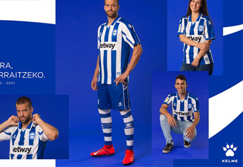Alaves football shirts 2020-21