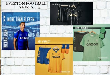 Everton football shirts 2020-21