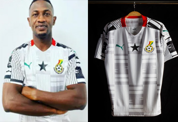Ghana football shirts 2020-21
