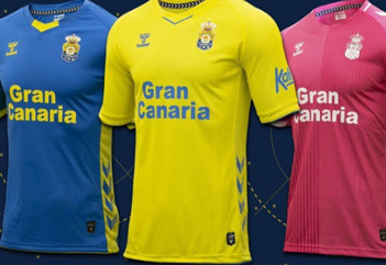 Las Palmas football shirts 2020-21