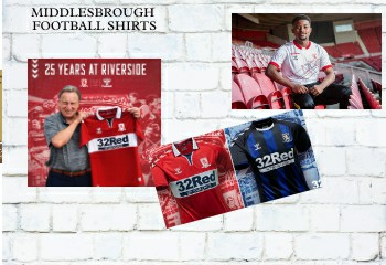 Middlesbrough football shirts 2020-21