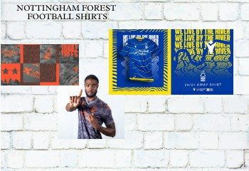 Nottingham Forest football shirts 2020-21