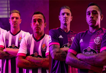 Real Valladolid football shirts 2020-21