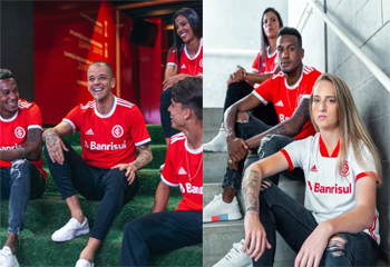 SC Internacional football shirts 2020-21